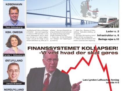 Finansystemet kollapser! Magnettog over Kattegat