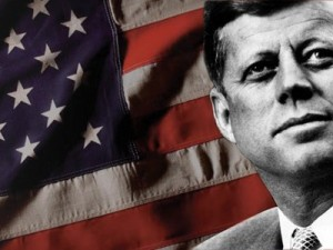 A tribute to John F. Kennedy: 50 years behind. The president from the Future