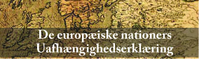 Helga Zepp-LaRouche: <br>De europæiske nationers Almene Uafhængighedserklæring