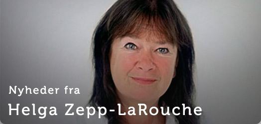 Helga Zepp-Larouche banner