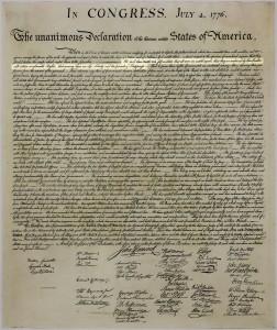 Den amerikanske uafhængihedserklaring