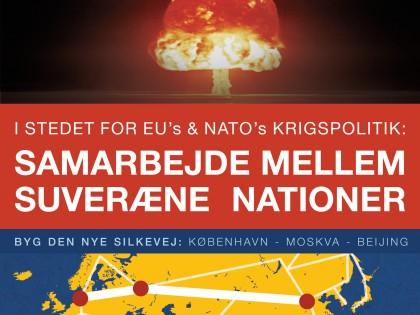 """2014 (2): """"Stop atomkrig! Samarbejde mellem souveræne nationer"""""""