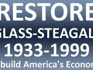 USA: GLASS-STEAGALL vil gøre kommercielle banker 'for sikre til at gå fallit'