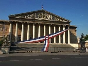 Fjorten franske deputerede fra Nationalforsamlingen i Moskva <br>for at protestere imod EU-sanktioner