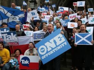Store implikationer af skotsk folkeafstemning