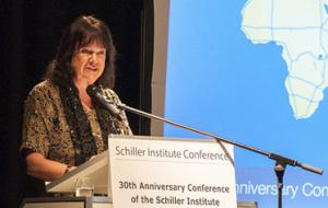 Helga Zepp-LaRouche: <br>Hovedtale ved Schiller Instituttets 30-års Jubilæums-konference i New York, juni 2014: <br>»Tiden er inde til at skabe en verden uden krig«