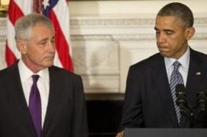 USA: Obama fyrer Hagel i et vredesanfald