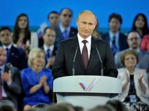 Putin: Det vil aldrig lykkes nogen at undertvinge Rusland
