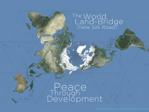 Fra LaRouche-bevægelsen 19. nov. 2014: <br>Skub Obama ud over kanten for at bane vejen <br>for Verdenslandbroen