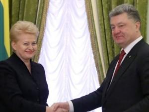 Den litauiske præsident kalder Rusland for en terroriststat og lover militærstøtte til Ukraine