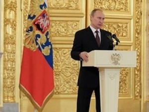 Putin: Ikke 'Jerntæppe', men nationalt forsvar