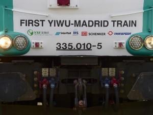 Første direkte godstog ankommer til Spanien fra Kina