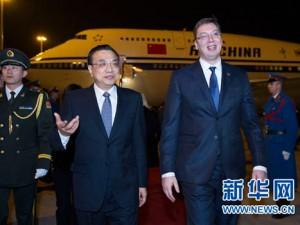 Den kinesiske premierminister Li i Beograd:  <br>Østeuropa kan lære af Kinas udvikling <br>– Opbyg transport- og energiinfrastruktur