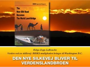 Nyhedsorientering december: <br>Den Nye Silkevej bliver til Verdenslandbroen <br>Introduktion v/Helga Zepp-LaRouche