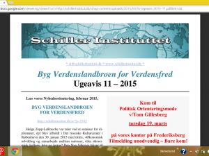 Schiller Instituttets Ugeavis 11 – 2015: <br>LaRouche til Grækenland: Forlad euroen, Gå med i BRIKS!