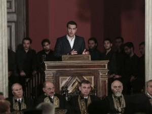 Grækenlands kamp er Europas kamp, hævder Tsipras på Uafhængighedsdagen