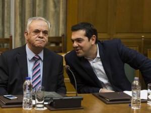 Græske ministre til Kina for at forberede premierministerens besøg; <br>vice-PM Dragasakis angriber ECB's udelukkelse af Grækenland