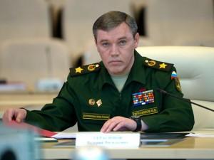 Stop 3. Verdenskrig:  <br>Ruslands generalstabschef Gerasimov: Atomvåbenfri NATO-lande, <br>der er vært for NATO's BMD, har gjort sig selv til mål