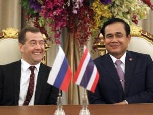 Thailand gennemgår totalt kursskifte mod Rusland, Kina og Indien, væk fra Obama