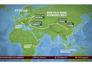 Nye økonomiske Silkevejsbælte