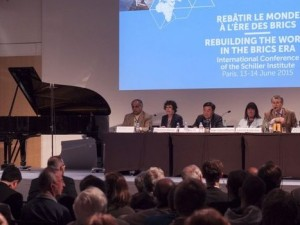Historisk Schiller Institut-konference i Paris: <br>Genopbyg verden i BRIKS-æraen
