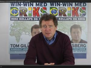 Folketingskandidat Tom Gillesberg om det kommende skift i verden