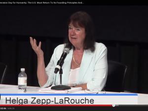 Helga Zepp-LaRouche: <br>Hovedtale ved Schiller Institut-konference på Manhattan, D-dag: <br>Prometheus-udfordringen under udfoldelse: <br>BRIKS, en ny æra for menneskeheden