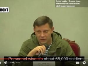 Umiddelbar fare for krig i Ukraine; <br>Kiev-styrker samlet for at angribe Donbass