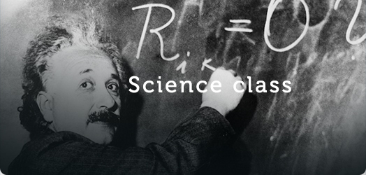 science class banner
