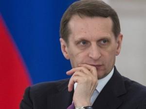 Rusland: Formand for Statsdumaen, Naryshkin:  <br>Dialog med Assad en nødvendighed