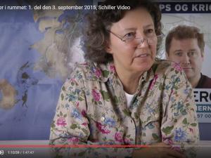 POLITISK ORIENTERING 3. september 2015: <br>Den første dansker i rummet.  <br>Se også 2. del (3 min.)