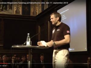 EIR eksklusiv: Andreas Mogensens foredrag på Københavns Universitet den 17. september 2015