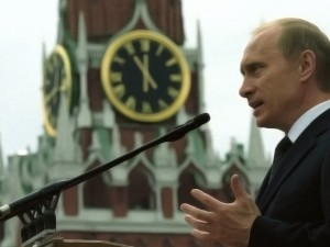 Putin vender flanken