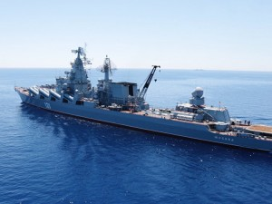 Rusland trænger ind på NATO's Middelhavs-sø