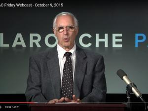 LPAC Fredags-webcast 9. oktober 2015: <br>Skrid til forebyggende handling nu:  <br>Glass-Steagall ind, Obama ud.  <br>v/Jeffrey Steinberg m.fl.