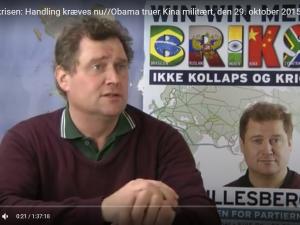 POLITISK ORIENTERING den 29. oktober 2015: <br>Flygtningekrisen: kræves: handling nu//<br>Obama truer Kina med militære midler