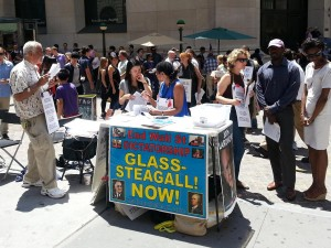 USA; Hele verden: LPAC's landsdækkende aktionsuge: Vedtag Glass-Steagall nu. <br>LPAC-TV: The Takedown of Glass-Steagall