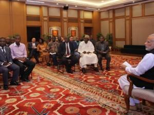Indien/Afrika-Topmøde: BRIKS' Ny Udviklingsbank <br>udser sig udvikling i Afrika som mål