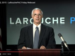 LaRouchePAC Fredags-webcast 20. november 2015: <br>Obamaregeringen skaber kaos med overlæg ved at sprænge <br>verden luften. Fjern ham, eller se en større katastrofe i øjnene.