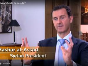 Præsident Bashar al-Assad interviewet af Hong Kongs Phoenix Tv