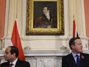 Den ægyptiske præsidents besøg i Storbritannien begyndt; <br>angloamerikanerne anklager, ISIS anbragte bombe på russisk rutefly