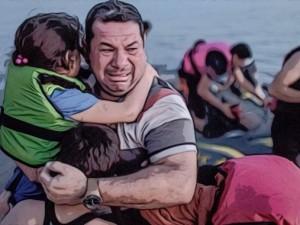 Strømmen af flygtninge vokser, mens vinteren forøger faren.  <br>Tsipras: »Det ægæiske Havs bølger skyller ikke blot døde børn,  <br>men den europæiske civilisation op på vore kyster«