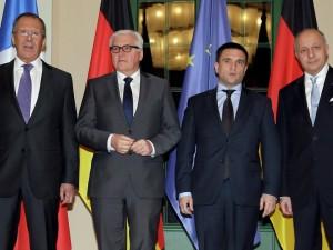 Udenrigsministrene i Normandiet 4-formatet mødes om Ukraine