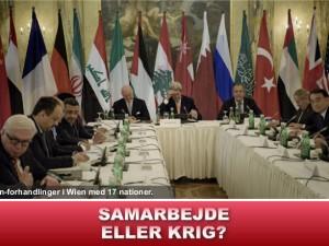 NYHEDSORIENTERING NOVEMBER: Samarbejde eller krig?