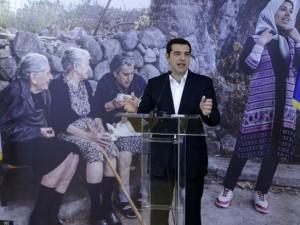 Grækenlands Tsipras opfordrer indtrængende til en afgørelse om flygtninge: <br>'Dråben i havet må blive til en flod'