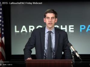 LaRouchePAC Fredags-webcast 11. december 2015: <br>LaRouche: Vi må gå tilbage til Franklin Roosevelts intention <br>med sin reform, ved at lukke Wall Street ned i USA, Europa <br>osv., og opbygge et nyt, økonomisk system.
