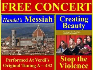 Lyt til Händels Messias, opført af Schiller Instituttet i New York City, 20. dec. 2015