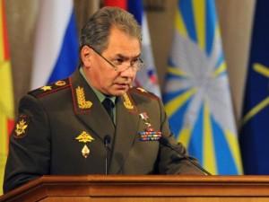 Den russiske forsvarsminister forklarer NATO's provokerende udvidelse mod Rusland