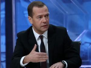 Medvedev: Tyrkiets nedskydning af <br>det russiske fly var en casus belli, <br>men vi valgte ikke at respondere symmetrisk