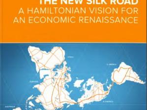 Ny brochure fra LPAC Videnskabsteam: <br>»USA tilslutter sig den Nye Silkevej«. <br>Dansk introduktion til LaRouchePAC <br>Videnskabsteams nye brochure,  <br>v/teamleder Benjamin Deniston